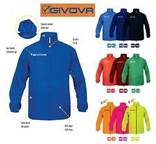 K-Way Giubbino GIVOVA Mod. RAIN BASICO Antipioggia Training Completi Calcio Giac
