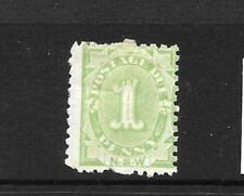 NEW SOUTH WALES 1891-92    1d  POSTAGE DUE  MH   P10   SG D2