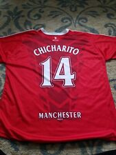 266f46c4042 MANCHESTER UNITED  14 CHICHARITO RED SOCCER Jersey SHIRT xl