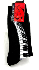 Piano Keyboard Socks - Socks for Piano Player - Music Gift - Musical Socks