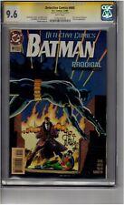 (B4) Detective Comics #680 CGC 9.6 Signature Series *Lee Weeks*