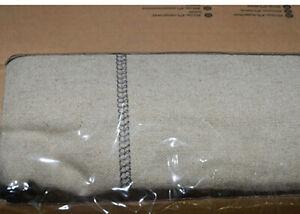 IKEA Ektorp 2 Seat Sofa SLIPCOVER Loveseat Cover RISANE NATURAL Linen Blnd Beige