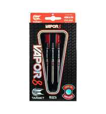 Target Vapor8 32g Gnurled Tungsten Darts Set, Pro Grip Stems, Flights, Case