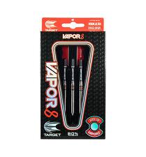 Target Vapor 8 28 grammo Freccette Tungsteno Set, include Pro Grip steli, voli, CASE