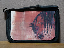 Laptop Computer Bag - Nylon with Horse Art