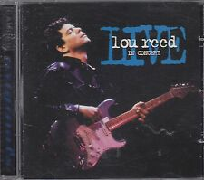 LOU REED - live in concert CD