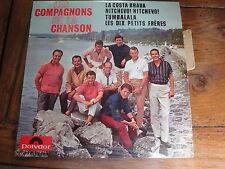 LES COMPAGNONS DE LA CHANSON       DISQUE 45 TOURS 4 TITRES