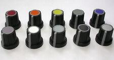 2 St. Einstellknopf, Regelknopf, Drehknopf in soft touch für 6mm Achse
