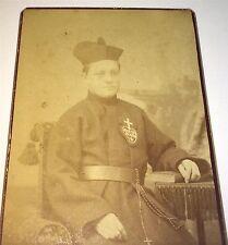 Rare Antique Victorian American Religious Man, Heart! Pittsburgh, PA CDV Photo!