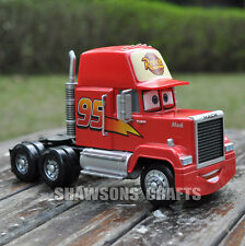 "DISNEY CARS DIECAST METAL #95 MACK 7"" TRUCK MODEL TOY BIG OVERSIZED ORIGINAL"