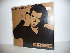 ALBUM MAXI 33 TOURS DISQUE VYNIL RICK ASTLEY / FREE