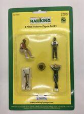 Railking G Gauge 3-piece Outdoor Figures Set #1