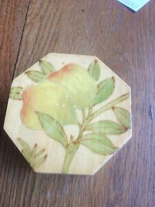 Hexagonal wooden keepsake box, jewellery box, gift ,trinket box,