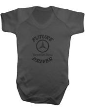 Future MERCEDES Driver -Bodysuit Colour-Baby Vest-Romper-100% Cotton