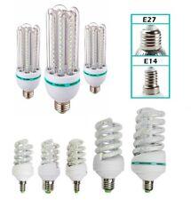 LAMPADA LAMPADINA LED 9W 13W 16W 24W 30W LUCE FREDDA CALDA BASSO CONSUMO E14 E27