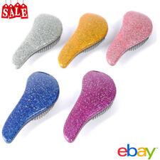 Glitter Magic Handle Tangle Detangling Combs Shower Hair Brush Styling girls lq