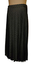 BNWT size 14 Long M&S Collection Fully Lined Lace SKIRT in Black Mix