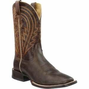 Ariat Circuit Herd Boss Square Toe   Mens  Western Cowboy Boots   Mid Calf  -