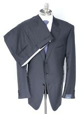 NWT PAL ZILERI Charcoal Loro Piana Super 130's Tasmanian Wool Suit 52 8X (EU 62)