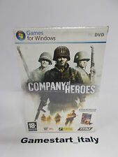 COMPANY OF HEROES + WARHAMMER 40.000 DAWN OF WAR - PC - NUOVO VERSIONE ITALIANA