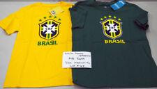 Brazil National Football Team Sample Apparel Lot Kids Youth Size Medium 10/12