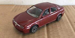 Burago Alfa Romeo 156 Car Model (Red) 5915611