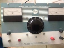 Epsco Power Supply DC 0-55V PS-5 Bench Filtered D.C.