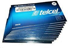 Telcel Sim Card for UNLIMITED calls/sms within Canada USA and Mexico