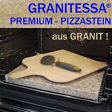 GRANITESSA PIZZASTEIN - aus GRANIT ! - mit PIZZASCHAUFEL & PIZZASCHNEIDER