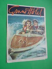 GRAND HOTEL rivista 1949 n.157 Corsa sul mare - Accalappiacani Roma