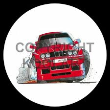 Koolart 4x4 4 x 4 Spare Wheel Graphic Bmw M3 E30 Sticker 1356