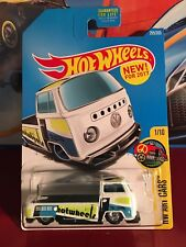 2017 Hot Wheels Volkswagen T2 Pickup Hw Art Cars Custom Made with Real Riders!