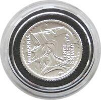2003 Royal Mint British Britannia 20p Twenty Pence Silver Proof Coin