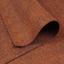 Woolfelt Tawny ~ 22cm x 90cm / felt fabric heathered brown christmas pudding