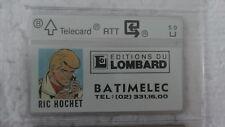 RIC HOCHET TELECARTE RTT   Co 109 K  2000 EXEMPLAIRES  1991 NEUVE