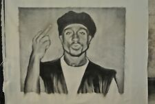 "Tupac Shakur (2PAC) Painting in Artists Oils on canvas 32"" x 40"" by J.BLAH"