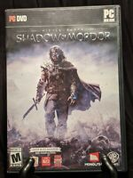 Middle Earth Shadow of Mordor PC works Win 7 8 10