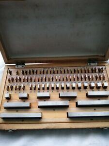 Precision Metric Gauge Block 1 2 3 4 5 6 10 15 20 25 30 100 mm New class 1 112pc