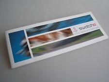 """ORIGINALE Swatch Flyer pubblicitari """"oylmpia 2000 Syndey"""""""