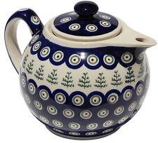 Polish Pottery Teapot from Zaklady Ceramiczne Boleslawiec gu740/312