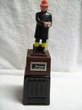 Vintage Fireman Novelty Liquor/Drink Dispenser/Decanter Display Piece