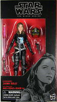 "Star Wars Black Series ~ 6"" JAINA SOLO ACTION FIGURE ~ Star Wars Legends Series"