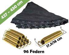 Trampolin Sprungmatte 427 für 96 V-Ringen und federn lange 18 cm | Sprungtuch