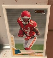 2019 DONRUSS MECOLE HARDMAN JR. CANVAS RATED ROOKIE RC #325 CHIEFS