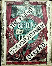 More details for victorian 1874 bk fijiad english entertainments beeton's christmas fiji non-pc