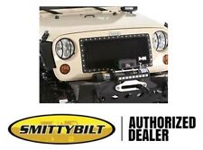 Smittybilt M1 Wire Mesh Grille 2007-2017 Jeep Wrangler JK 615850 Black