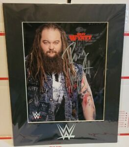 WWE Bray Wyatt Autographed photo