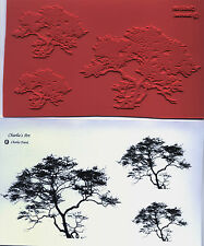 unmounted rubber stamps  African Tree in 3 sizes