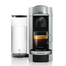 NEW Nespresso VertuoPlus Coffee Maker & Espresso Machine by DeLonghi Silver