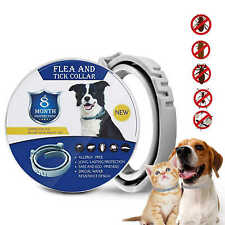 Flea And Tick Collar For Dogs Cats, 8 Month Flea Tick Dog Collar Anti-Mosquito